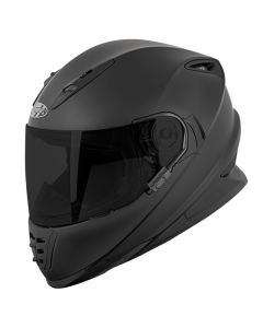 JOE ROCKET SOLID RKT 13 FULL FACE HELMET SIZE XS MATTE BLACK SINGLE LENS