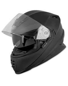 JOE ROCKET SOLID RKT 16 FULL FACE HELMET SIZE XS MATTE BLACK SINGLE LENS
