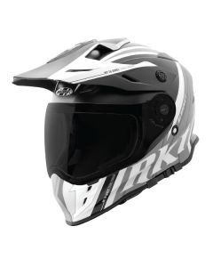 JOE ROCKET RKT 25 TRANS CANADA SIZE XS MATTE WHITE BLACK SINGLE LENS
