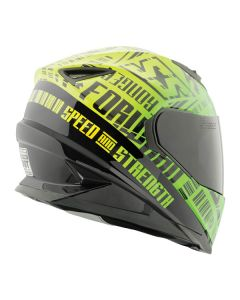FAST FORWARD SS1310 HELMET SIZE SM GREEN
