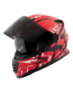 CRITICAL MASS SS1600 HELMET SIZE SM RED/WHITE