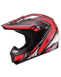 GMAX MX46 UNCLE MX YOUTH HELMET SIZE YOUTH SMALL RED