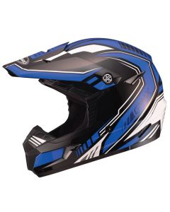 GMAX MX46 UNCLE MX HELMET SIZE SMALL BLUE