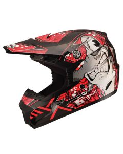 GMAX MX46 YOUTH SHARKED MX HELMET SIZE YOUTH SMALL RED