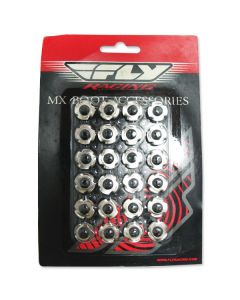Fly Racing Maverik Buckle Hardware 6PK