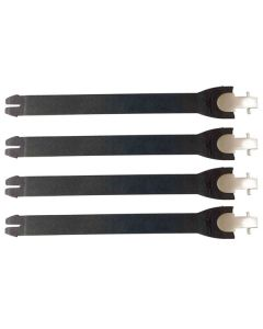 FLY STRAP KIT ADULT 4 PC BLK