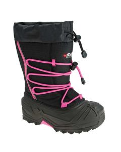 BAFFIN SNOGOOSE YOUTH BOOT SIZE YOUTH 6 BLACK/PINK
