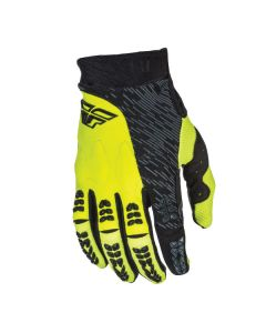 FLY RACING EVO GLOVE SIZE SMALL BLACK/HIGH-VISIBILITY