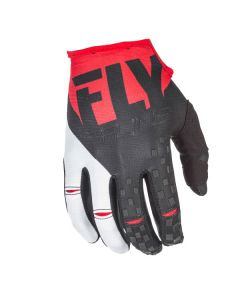 FLY RACING KINETIC GLOVE SIZE SMALL RED/BLACK