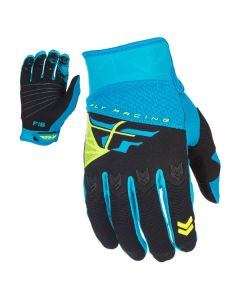 FLY RACING F-16 GLOVE SIZE YOUTH MEDIUM BLUE/BLACK