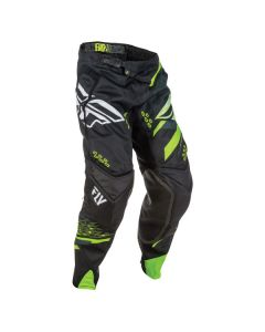 FLY RACING EVO PANT SIZE 30 BLACK/HIGH-VISIBILITY