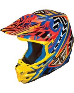 Fly Racing F2 Carbon Short MX Helmet