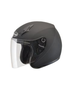 GMAX OF17 OPEN FACE HELMET SIZE 3XL MATTE BLACK SINGLE LENS