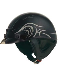 Gmax GM35 Fully Dressed Half Helmet