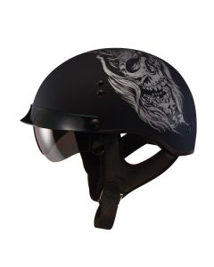 Gmax GM65 Fully Dressed Half Helmet