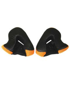 GMAX GM37 ORANGE CHEEK PADS SIZE XS