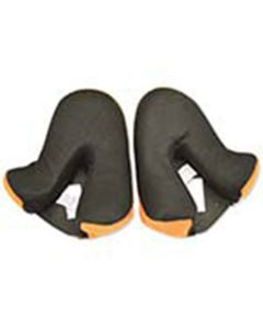GMAX GM56 ORANGE CHEEK PADS SIZE XS