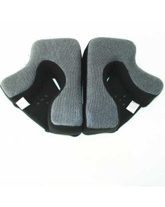 GMAX GM58 GREY CHEEK PADS SIZE XS
