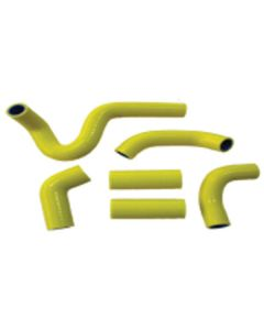 Psychic Yellow Silicone Radiator Hose Kit