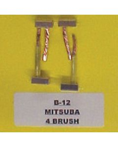 BRUSH KIT 4 BRUSH MITSUBA (B-12)