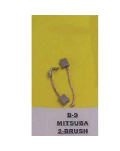 BRUSH KIT 2 BRUSH MITSUBA (B-9)