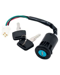 KEY SWITCH 4WIRE MALE PLUG 4ST