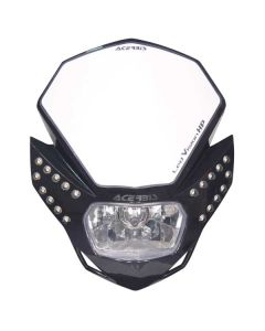 Acerbis Black LED Vision HP Headlight