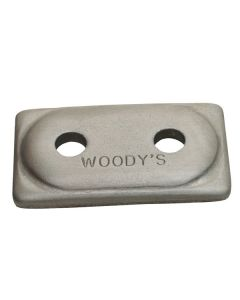 WOODY'S ALUMINUM DOUBLE DIGGER BACKER PLATES
