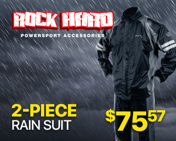 Rock Hard 2-Piece Rain Suit